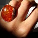 Honey Pot Amberlite Ring, H..